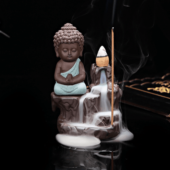 Monk Incense Burner