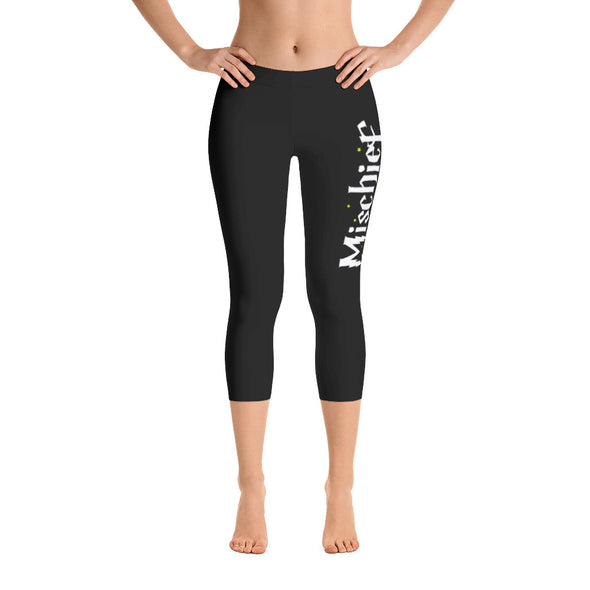 Mischief Managed Capri Leggings