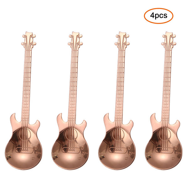 Guitar Style Spoon Set