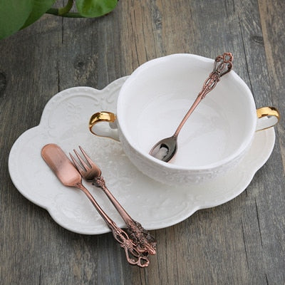 **Hollow Out Multifunction Coffee Tea Spoon