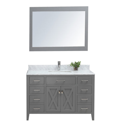 "48"" Single Sink Vanity Set - Grey"