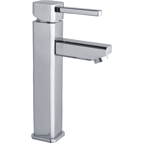 Modern Single Hole Single-Handle Vessel Bathroom Faucet