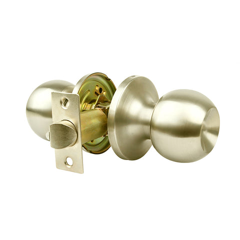 Passage Door Knob (Brushed Nickel)
