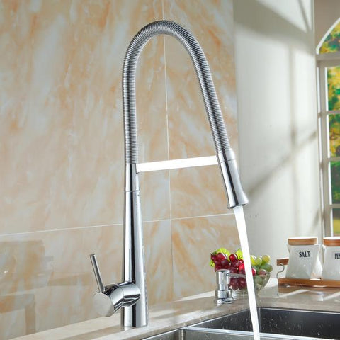 Elite Pull-Down Single Hole Single Handle Kitchen Faucet
