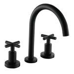 8 in. 2-Handle High-Arc Bathroom Faucet (Matte Black) - BW-6027079-MB