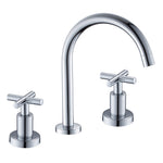 8 in. 2-Handle High-Arc Bathroom Faucet (Polished Chrome)