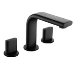8 in. Widespread 2-Handle Bathroom Faucet (Matte Black)
