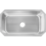 Undermount Stainless Steel 28-3/8 in. Single Bowl Kitchen Sink