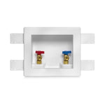 Washing Machine Outlet Box w/ Valves
