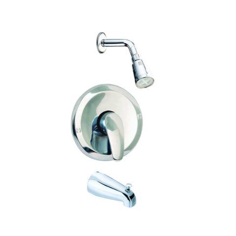 Single Handle Shower & Tub Faucet Set