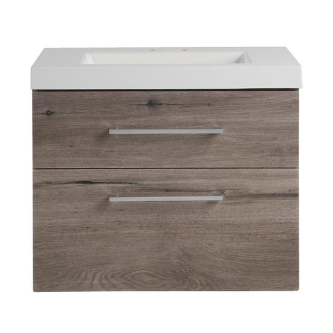 "24"" Floating Single Sink Vanity Set"