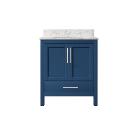 "30"" Single Sink Vanity Set (Blue)**"