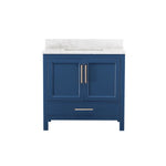 "36"" Single Sink Vanity Set (Blue)"