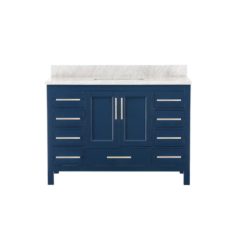 "48"" Single Sink Vanity Set (Blue)**"