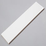 "White Matte Ceramic Tile (4""x 16"")"