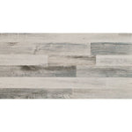 "Weathered Hardwood Plank Look Ceramic Tile (18"" x 36"")"