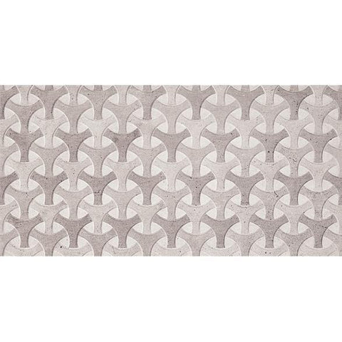 "Stone Wicker Ceramic Floor and Wall Tile (18"" x 36"")"