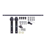 Sliding Barn Door Hardware Set (Matte Black)