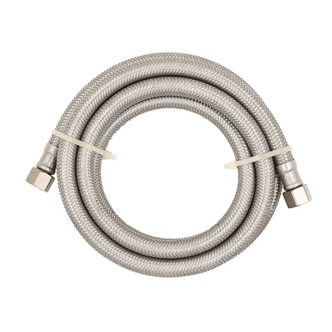 Stainless Steel Universal Dishwasher Supply Line 3/8 in. x 3/8 in. x 60 in.