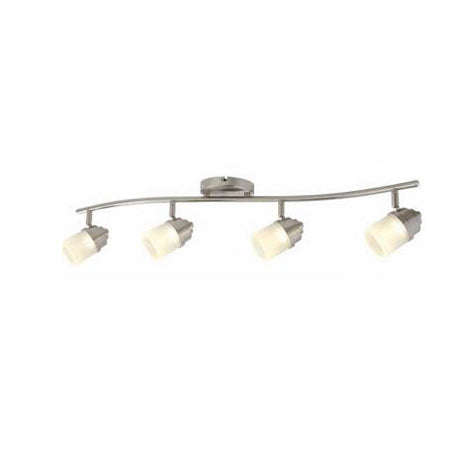Track Lighting in Brushed Nickel