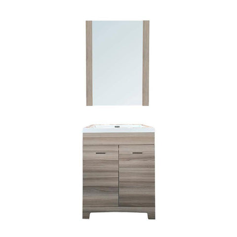 "24"" Single Sink Vanity Set (Mirror Included)"