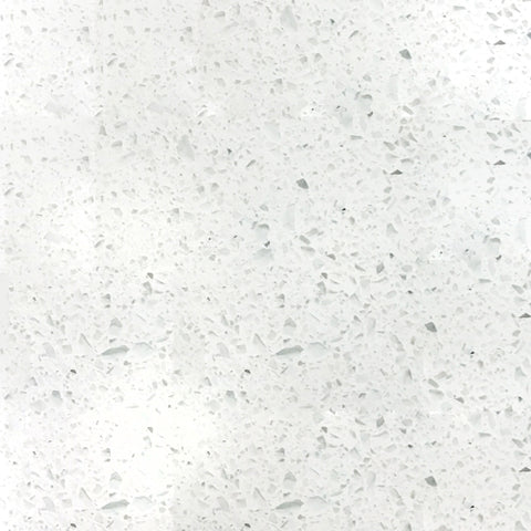 Crystal White Galaxy Quartz Jumbo Slab