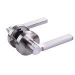 Square Latitude Passage Door Lever