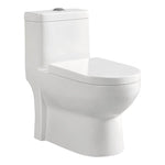 Sunny Siphonic One Piece Toilet in White