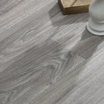 Wood Look Vinyl Floor Plank Grey JC6520-3- Sold BY BOX (37.50 sq ft per box)