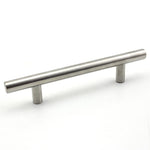 5 in. Metal Cabinet/Drawer Pull Brushed Nickel (Set of 10)
