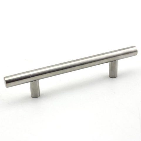 5 in. Metal Cabinet/Drawer Pull in Stainless Steel (Set of 10)