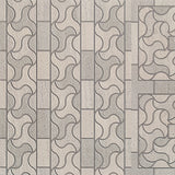 "Mosaic Waves Ceramic Floor and Wall Tile (24"" x 24"")"