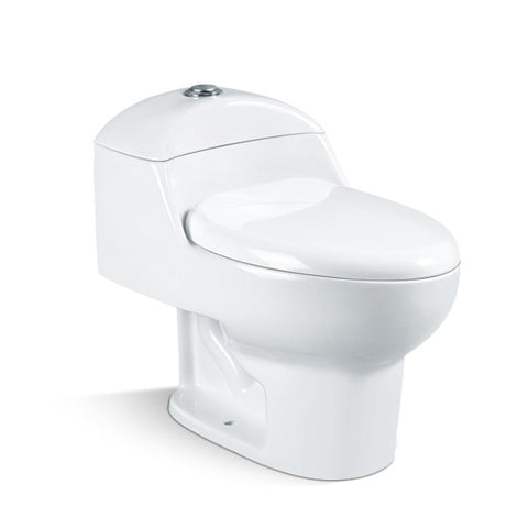 Fran Siphonic One Piece Toilet in White