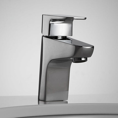 Single Hole Single Handle Bathroom Faucet (Polished Chrome)
