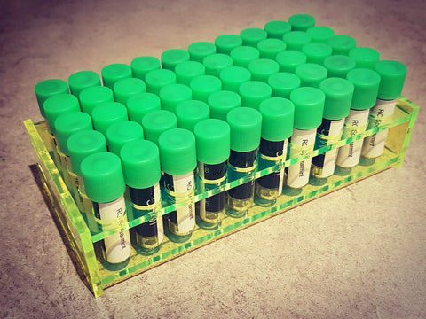Ink Sample Rack - 50 Vials