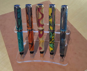 Pen Display Stand - 5 Pens