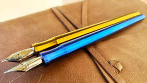 Serendipity Titanium - Hybrid Pen - James Finniss
