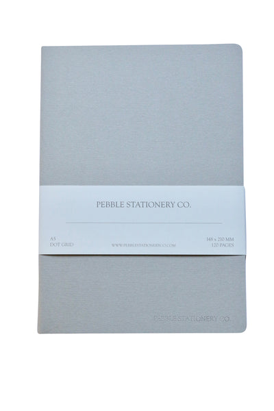 A5 Cahier Tomoe River Notebook - Pebble Stationery Co. - Dot Grid
