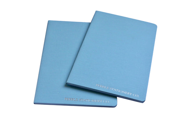 The Glacier Pocket Tomoe River Notebook - Pebble Stationery Co. - Dot Grid - Two Pack