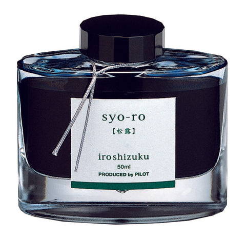 "Syo-Ro ""Dew On Pine Tree"" - Iroshizuku Ink by Pilot"