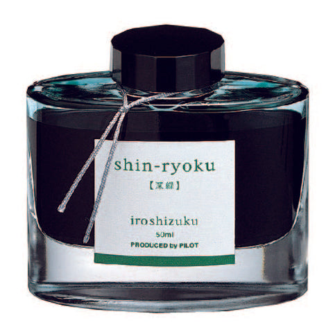 "Shin-Ryoku ""Forest Green"" - Iroshizuku Ink by Pilot"