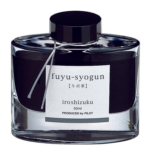 "Fuyu-Syogun ""Old Man Winter"" - Iroshizuku Ink by Pilot"