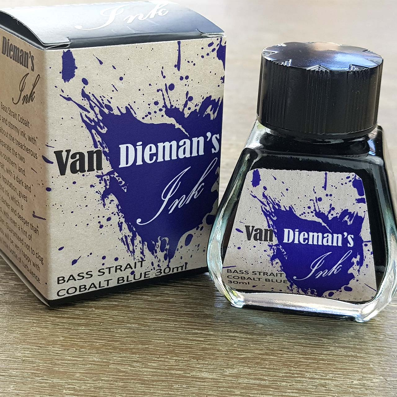 Bass Strait Cobalt Blue - Van Dieman's Fountain Pen Ink - Original Series