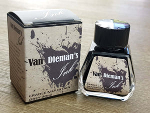 Cradle Mountain Grey - Van Dieman's Fountain Pen Ink - Original Series