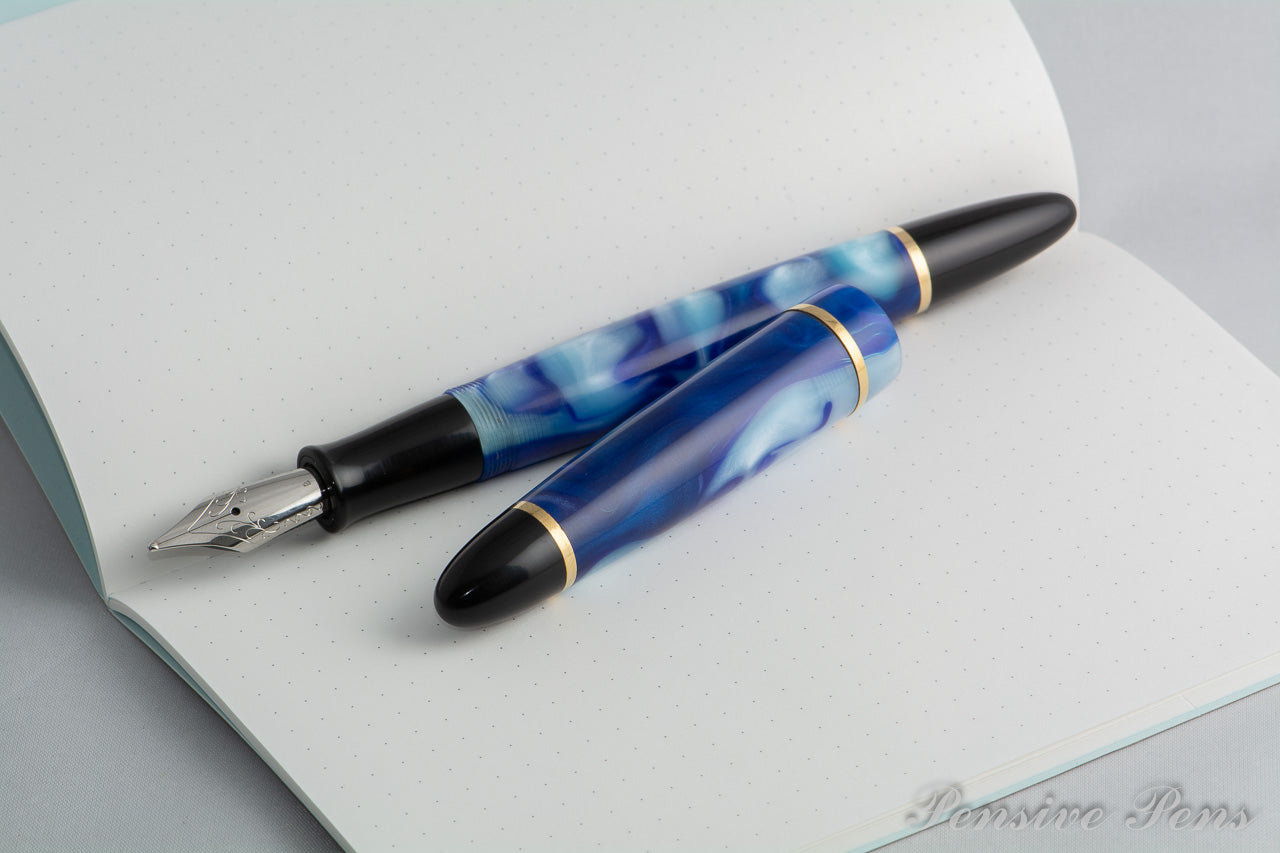 Lithos Blue Fountain Pen - James Finniss
