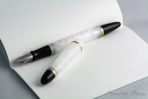 Lithos White Fountain Pen - James Finniss