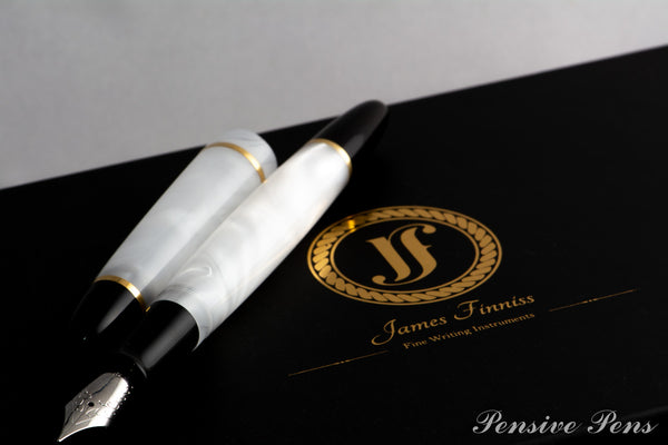 Lithos Pink/Ivory Fountain Pen - James Finniss