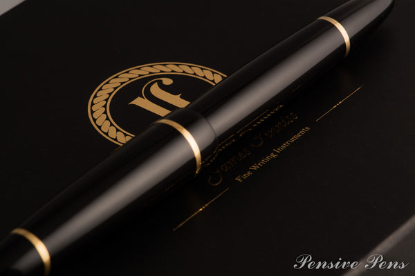 Lithos Black Fountain Pen - James Finniss