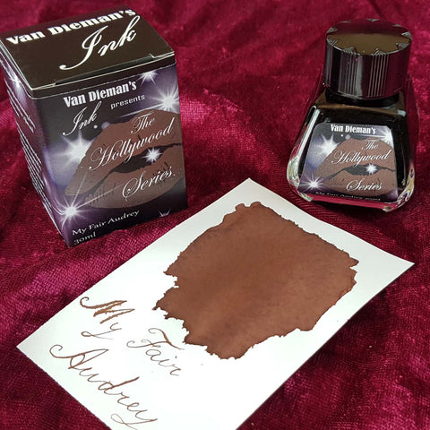 My Fair Audrey - Van Dieman's Fountain Pen Ink - Hollywood Series