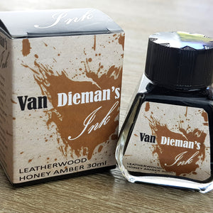 Leatherwood Honey Amber - Van Dieman's Fountain Pen Ink - Original Series